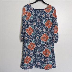 Old Navy Floral Sheath Dress. Size XL